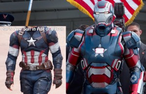 A2 Cap Suit Iron Patriot